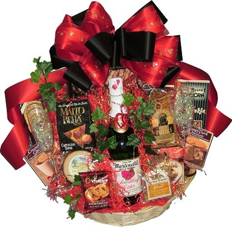 Supreme Romantic Gift Basket