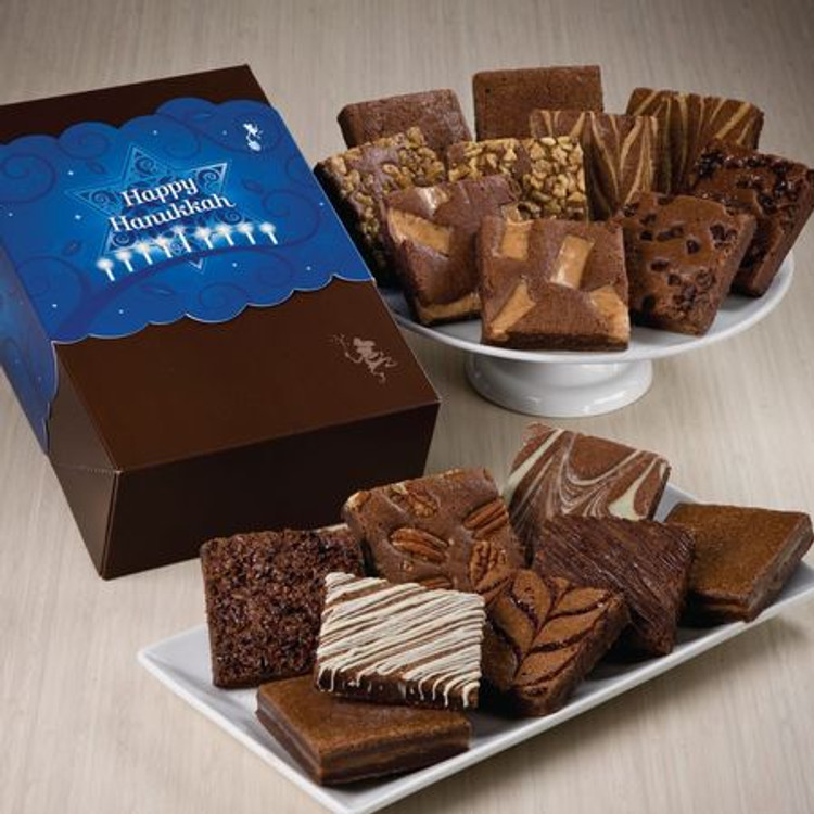 Hanukkah Brownies