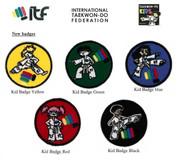 ITF Kids Development Programme badges