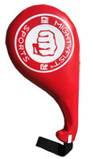 Small red kick paddle for children and small teens