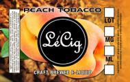 US Made Peach Tobacco