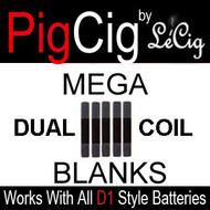 Dual Coil MEGA Blanks