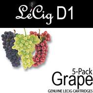 LeCig D1 - Grape - 5 pack