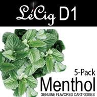 LeCig D1 - Menthol - 5 Pack