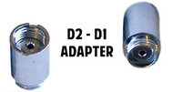 D2 Battery to D1 Cartomizer Adapter