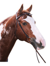 Knotted Brow Western Bridle