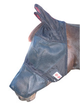 Zilco Fly Mask With Ears And Nosepiece