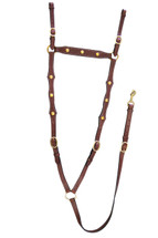 Wayne Walkers Calgary Stockman's Breastplate With Scolloped Shoulder Straps