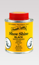 Lydd Show Shine Black Hoof Polish