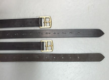Stock Saddle Stirrup Leathers