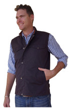 Newmarket's Town & Country Oilskin Vest