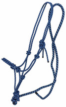 NEW Oxford Two Tone Rope Halter & Lead Set