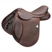 Bates Caprilli Close Contact Saddle Heritage Leather With CAIR