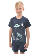 NEW Thomas Cook Boy's Glow In The Dark Bull Pj's