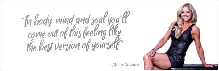 In body, mind and soul you'll come out of this feeling likethe best version of yourself.
