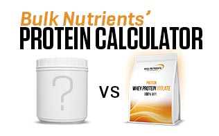 Compare and save on WPI with Bulk Nutrients