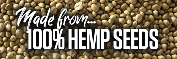 Bulk Nutrients' Hemp Protein is made from 100% hemp seeds