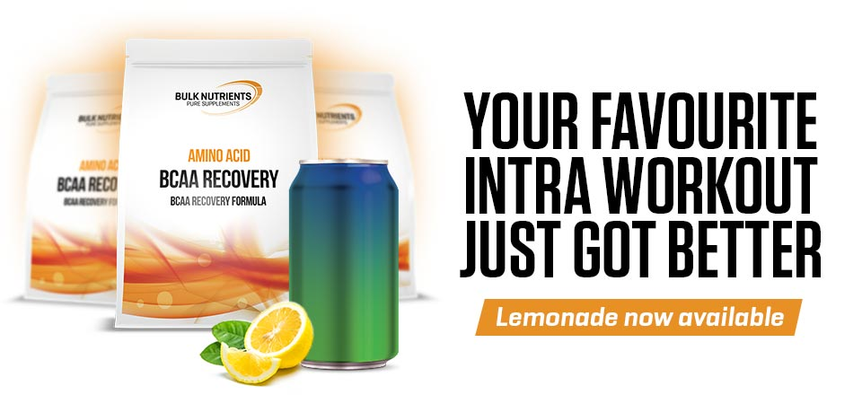 Your favourite intra workout just got better - BCAA Recovery Lemonade now on sale