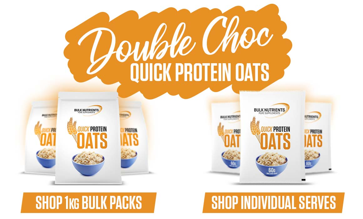 Double Choc Protein Oats are here!
