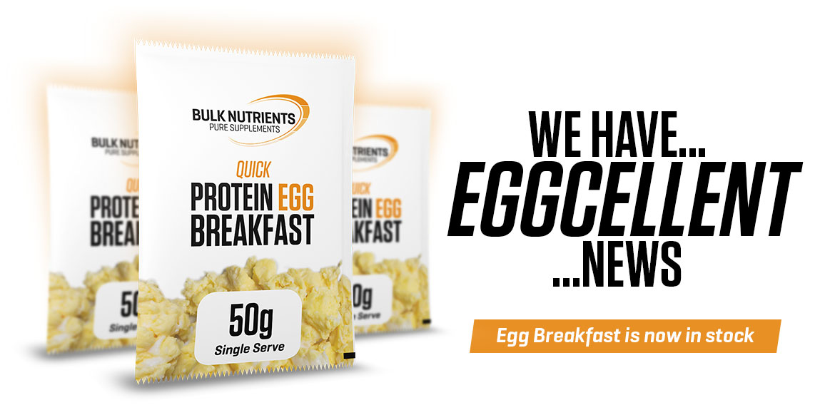 Egg Breakfast is now available at Bulk Nutrients!
