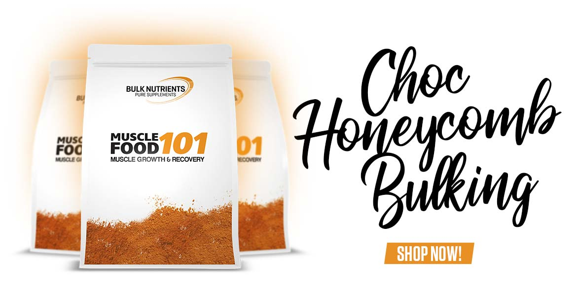 Choc Honeycomb has made its way to Muscle Food 101