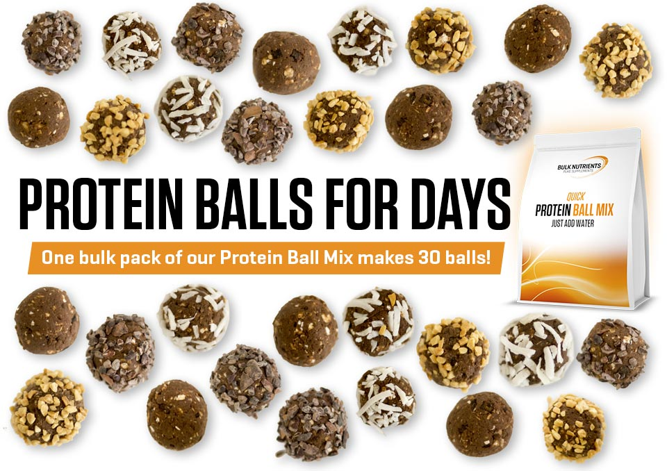Protein Balls for days!