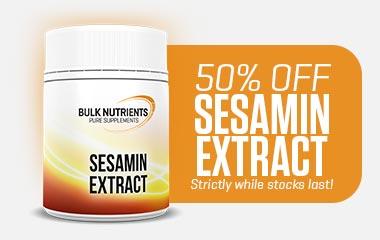 50% off Sesamin Extract