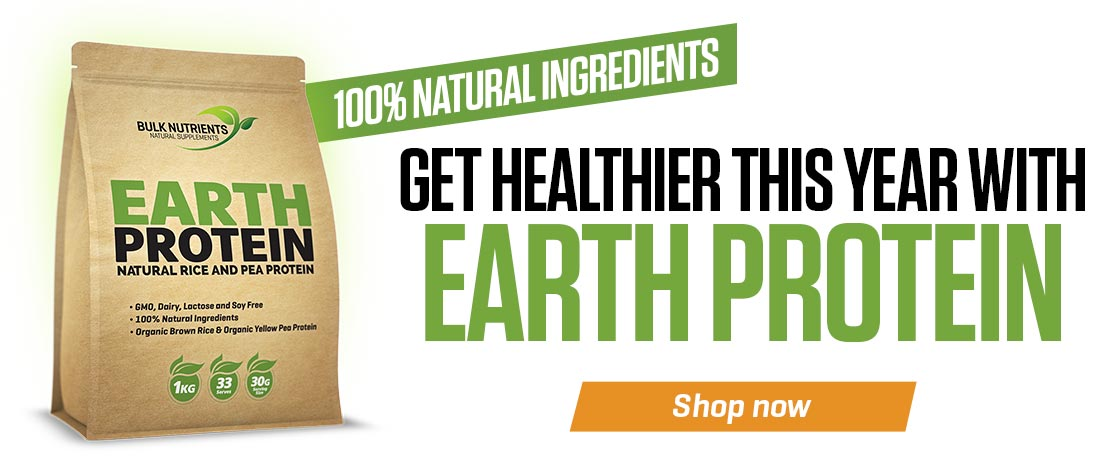 Earth Protein contains 100% Natural Ingredients