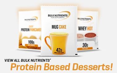 Bulk Nutrients Protein Based Desserts
