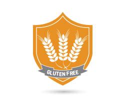 100% gluten free.