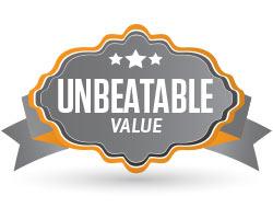 Unbeatable value!