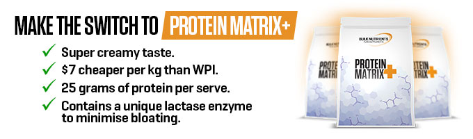 Make the switch to Protein Matrix+