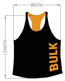 Bulk Nutrients Unisex Stringer Sizing Chart