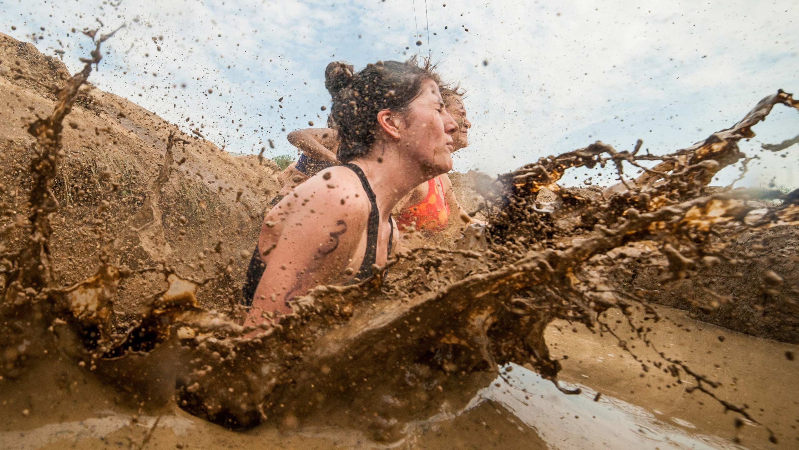 Tough Mudder combines obstacles and mud to create an event like no other