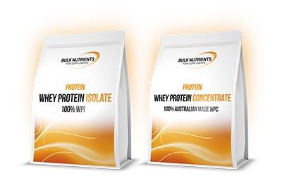 Bulk Nutrients WPI & WPC