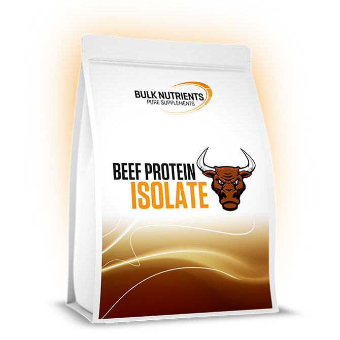 Bulk Nutrients' Beef Protein Isolate