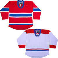 NHL Uncrested Replica Jersey DJ300 - Montreal Canadiens