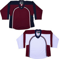 NHL Uncrested Replica Jersey DJ300 - Colorado Avalanche