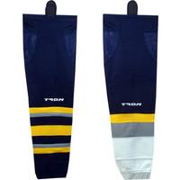 Tron SK300 Dry Fit Hockey Socks - Buffalo Sabers