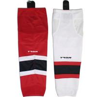 Tron SK300 Dry Fit hockey Socks - New Jersey Devils