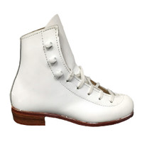 Riedell 32 White Boot D/C