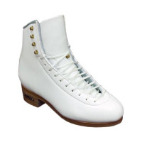 SP Teri Pro Girl's White Boots Width A