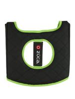 Zuca Black/Green Seat Cushion