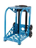 Zuca Sport Frame - Blue with Flashing Wheels