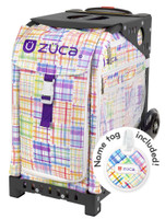 Zuca Wheeled Bag - insert only - Patchwork