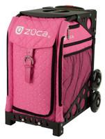 Zuca Wheeled Bag - insert only - Pink Hot