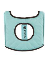 Zuca Turquoise/Brown Seat Cushion