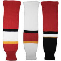 Tron SK200 Knit Hockey Socks - Calgary Flames
