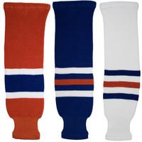 Tron SK200 Knit Hockey Socks - Edmonton Oilers