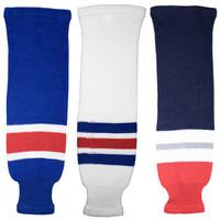 Tron SK200 Knit Hockey Socks - New York Rangers